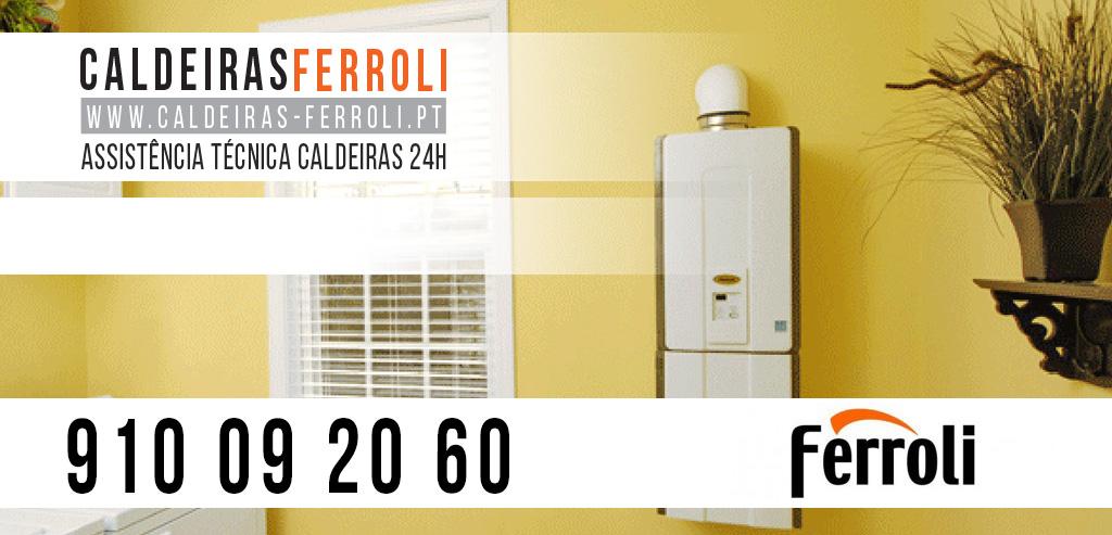 Assistência Caldeiras Ferroli